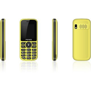 Peace P4 Dual Sim Mobile With FM, Camera  LED Flash