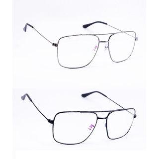Derry  2 Transparent Rectangular Sunglasses