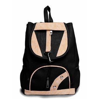 Bizanne Fashion Stylish Trendy College Bags for Girls (Black, BV1019)