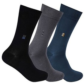 Mens Long Socks Assorted Pack of 3
