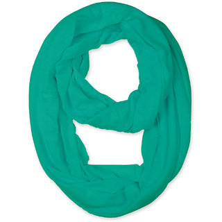 Lili Soft Lightweight Solid Colour Infinity Around Loop Scarf