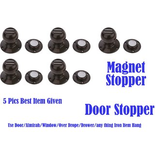 Door Magnet Stopper 5 Pics (3 No)