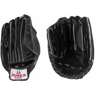 Jonex BOSS-381 Split Leather Baseball Gloves (Black)