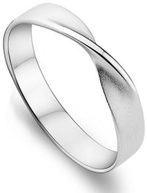 RM Jewellers 92.5 Sterling Pure Silver American Best Promise Band Ring