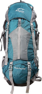 INDIANISTA NEWGC GREEN 75L RUCKSACK BACKPACK  TREKKING BAG WITH LAPTOP COMPARTMENT