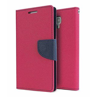 Back Flip Cover For Sony Xperia C S39H  ( PINK )