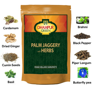 Dhampur Green Palm Jaggery with Herbs