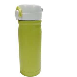 6th Dimensions 350ML New Stainless Steel Flask Thermos Readily Cup Mug Coffee (GREEN)