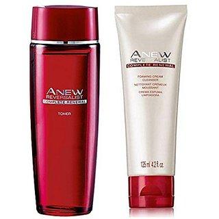 Avon Anew Reversalist Cleanser 125g Toner 50g