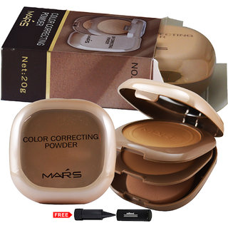 Mars Color Correcting Compact Powder P406-03 With Free Adbeni Kajal