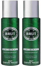 Brut Original Deodorant Spray - For Men (400 ml, Pack of 2) Body Spray - For Men