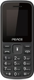 Peace P1 Dual Sim Mobile Phone With Wireless FM, LED Torch  Digital Camera