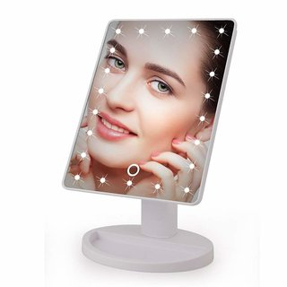 22 LED Light Magic Make up Mirror With Touch Sensitive Control and 180 degree swivel function