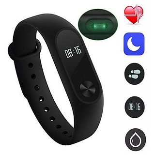 M2 FITBand Compatible with Bluetooth or Heart Rate Sensor and Sweat Free