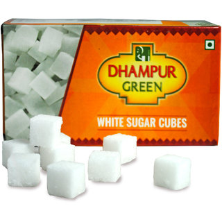 Dhampur Green White Sugar Cubes 500gm
