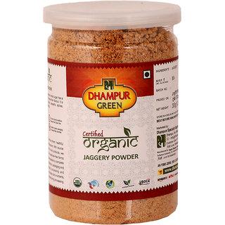 Dhampur Green Organic Jaggery Powder 300GM (Desi Shakkar)