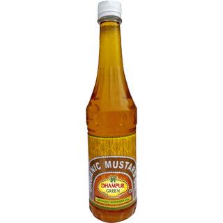 Dhampur Green Organic Mustard Oil 700ml