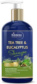 StBotanica Eucalyptus  Tea Tree Oil Hair Repair Shampoo - 300ml - No SLS / Sulphate, No Parabens, No Silicon