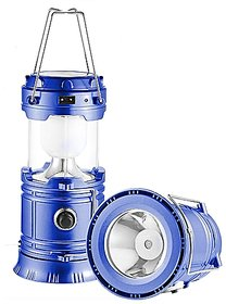 HK Solar Camping Lantern, Rechargeable Emergency Light Lamp Solar LED Flashlight with Hanging for Camping