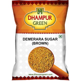 Dhampur Green Demerara (Brown) Sugar 1kg