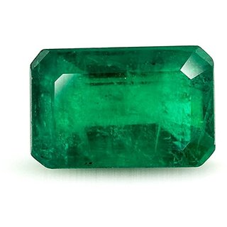 Emerald Stone Original 5.25 Ratti Natural Certified Colombian Quality Loose Precious Panna Gemstone