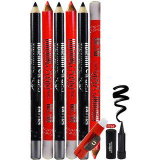 ADS Rich Color Eye & Lip Liner With Free Adbeni Kajal