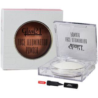 Glam21 Face Illuminator Powder CP7005-104 With Free Adbeni Kajal