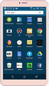 IKall N1 (8 Inch, (1+8)GB Ram, Wi-Fi + 4G Calling, Gold with manufacturing Warranty