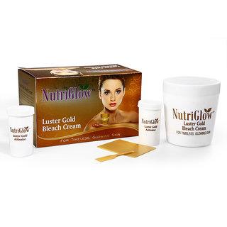 Set of Luster Gold bleach cream