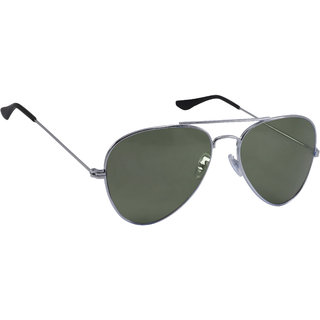 Derry Grey Aviator Unisex Sunglasses