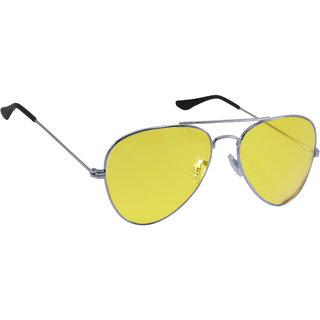 cd56a7429a3 Buy Derry Yellow Aviator Unisex Sunglasses Online - Get 82% Off