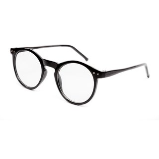 0c17734e58 TheWhoop Black Round Spectacle Frame Eye Glasses For Men Women Boys Girls.  Transparent Nightwear Unisex