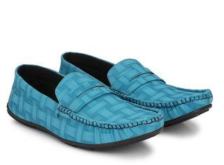 Evolite Men Sky Blue Loafers