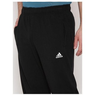 Adidas Climacool Black Polyester Men Track Pants