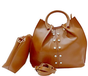Flozum 2 in 1 combo handbag in latest design for women girls