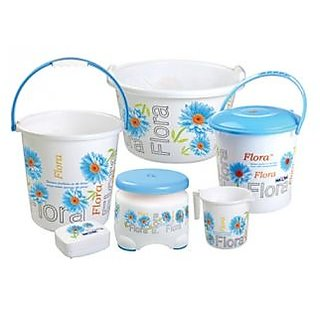 NAYASA FUNK BATHROOM SET 6 PCS - S