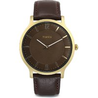 Timex Analog Brown Dial Men's Watch TW2R49800