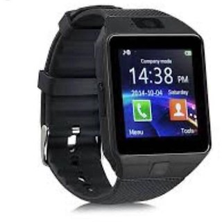 Smart watch mens watch black colour with sim card support and much more