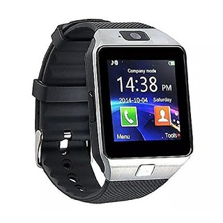 Smart watch mens watch silver colour with sim card support and much more