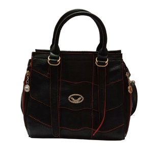 Flozum pu leather handbag for womens  girls