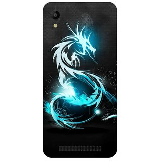 Back Cover for Mobiistar C1 Lite (Multicolor,Flexible Case)