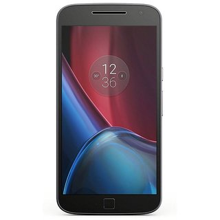 Moto G4 Plus 32GB ROM 3GB RAM  Black (Refurbished) (1 Year Warranty Bazaar Warranty)