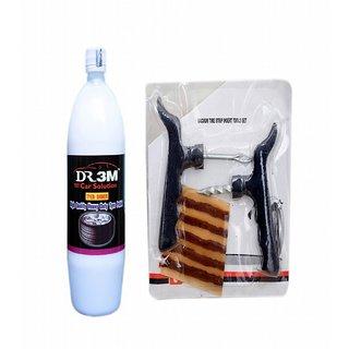 TYRE SHINER 1000ml. + Panchar kit ( Master combo Pack)