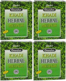 Khadi Herbal Black Mehndi - 80g (Set of 4)