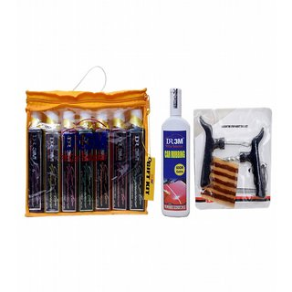 7pc CAR AIR FRAGNANCE  (FLORAL,FRESH,,BREEZE, JASMEIN,ROSE,SANDAL MERI GOLD) 200mL. +200gm.(60gm EXTRA). + Panchar kit ( Master combo Pack)