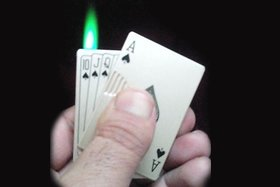 Playing Cards Cigarette Lighter