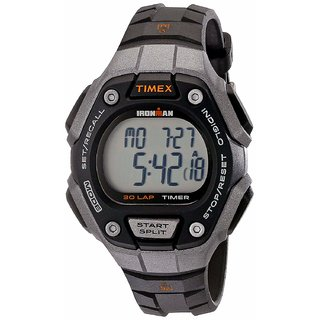 Timex Womens Ironman 30-Lap Digital Quartz Mid-Size Watch .