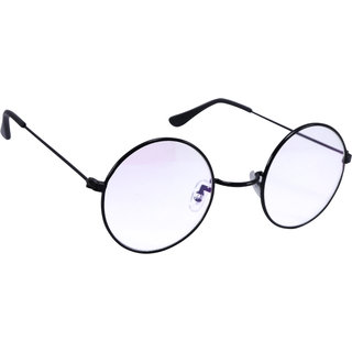 ee6a61fb5a Buy Derry Transparent Round Sunglasses in Black Rim Online - Get 81% Off