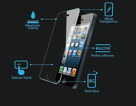 Tempered Glass Screen Protector Film Cover Guard for iPhone 5 5S