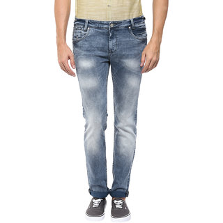Mufti Grey Slim Jeans
